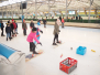 Sint bij het Schoolschaatsen 2018
